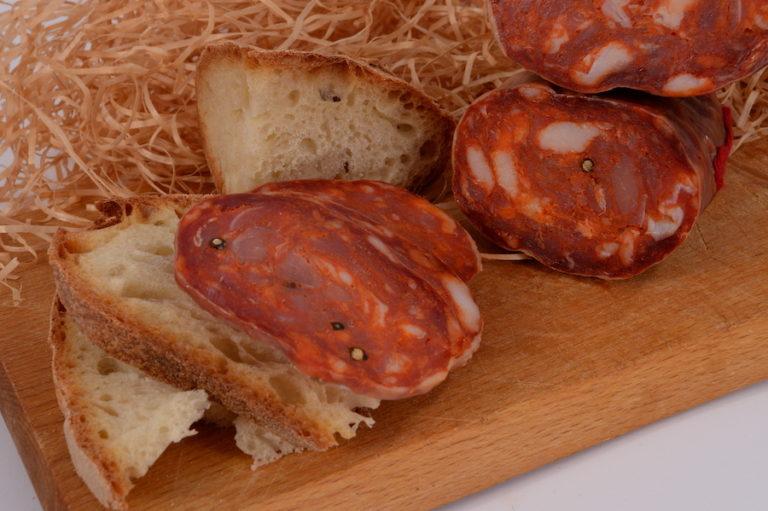 Soppressata nostrana piccante della Calabria